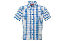 The North Face Men's S/S Gilgit Woven nautical blue
